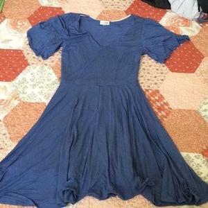 Periwinkle dress small